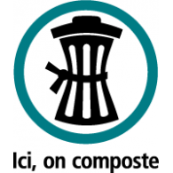 Logo of Ici on composte