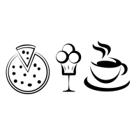 Logo of Coffee Pizza Ice Cream
