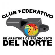 Logo of Club Federativo de Arbitros de Baloncesto del Norte