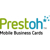 Logo of Prestoh Mobile Business Cards