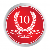 Logo of 10 let