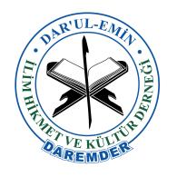 Logo of Daremder Dar'ul - Emin İlim Hikmet ve Kültür Derneği