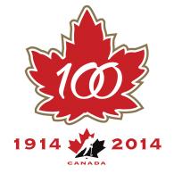 Logo of Hockey Canada's 100th Anniversary