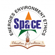 Logo of Space English Medium School
