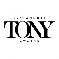 Logo of Tony Awards 72nd
