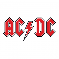 Logo of AC DC red
