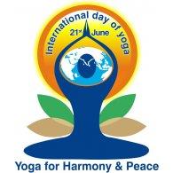 Logo of International Yoga Day