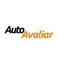 Logo of Logotipo oficial Auto Avaliar, utilização em fundo cinza.