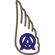 Logo of Olympique Ales (1950's logo)