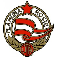 Logo of Flamura Roșie Arad (1950's logo)