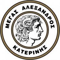 Logo of Megas Alexandros Katerini (1950's logo)