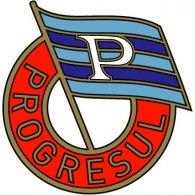 Logo of Progresul București (1950's logo)