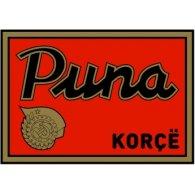 Logo of Puna Korçë (1950's logo)
