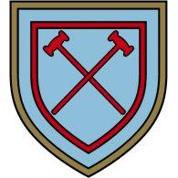 Logo of West Ham United London (1950's logo)