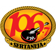 Logo of 106.7 FM Sertaneja