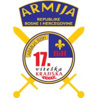 Logo of 17. Viteška krajiška brigada Armija BiH