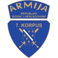 Logo of 7. Korpus Armije BiH