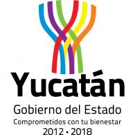 Logo of Gobierno del Estado de Yucatán 2012-2018