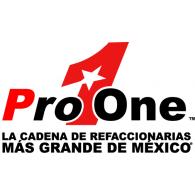 Logo of Pro One Autopartes