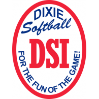 Logo of Dixie Softball League