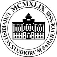 Logo of Universitas Studiorum Saraievoensis