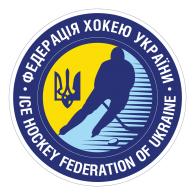 Logo of Ice Hockey Federation of Ukraine
