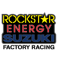 Logo of Rockstar Energy Suzuki Factory Racing