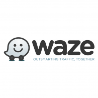 Logo of Waze