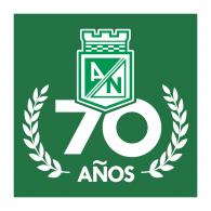 Logo of Club Atlético Nacional 70 Años
