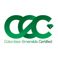 Logo of Colombian Emeralds Certified