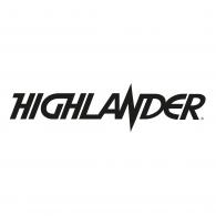 Logo of HIGHLANDER - Title movie logo (BLACK)