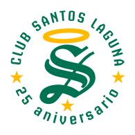 Logo of Santos de Torreón 25 años