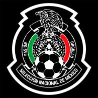 Logo of Selección de Futbol de México (negro)