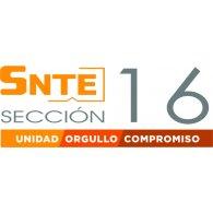 Logo of SNTE Secc. 16
