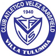 Logo of Club Atlético Velez Sarsfield de Villa Tulumba Córdoba