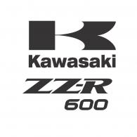 Logo of kawasaki ZZR 600