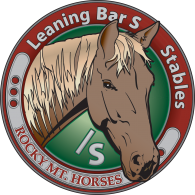 Logo of Leaning Bar S Rocky Mountain Horse Stables