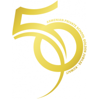 Logo of Armenian Private School of Kuwait 50th Anniversary