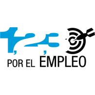 Logo of 1,2,3, Por el Empleo