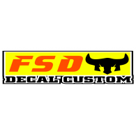Logo of FSD Decal Custom