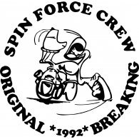 Logo of Spin Force Crew Old School Breaking