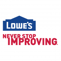 Logo of Lowes - Never Stop Improving