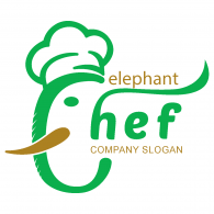 Logo of Logo elephant chef