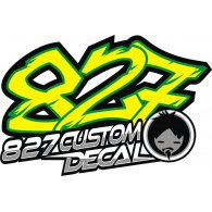 Logo of 827customdecal