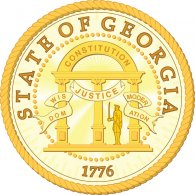 Logo of Georgia State Seal - V1