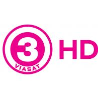 Logo of Viasat 3 HD