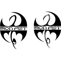 Logo of Iron Fist - Wu Tang