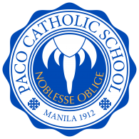 Logo of Paco Catholic School, Manila 1912