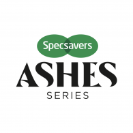 Logo of Specsavers Ashes Series 2019