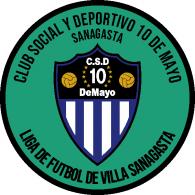 Logo of Club Social y Deportivo 10 de Mayo de Sanagasta La Rioja